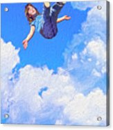 Aquarius Rising Acrylic Print