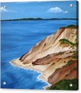 Aquinnah Cliffs Acrylic Print