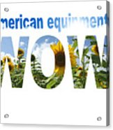 Artwork For Lawnmower Company Acrylic Print
