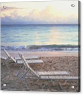 Aruba Beach Sunset Acrylic Print