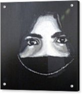 Arab Girl Acrylic Print
