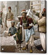 Arab Stonemasons, C1900 - To License For Professional Use Visit Granger.com Acrylic Print