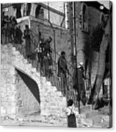 Arab Youths In Bethlehem 1938 Acrylic Print