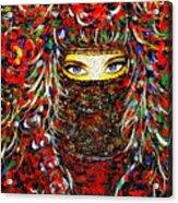 Arabian Eyes Acrylic Print