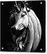 Arabian Unicorn Acrylic Print