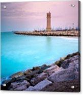 Arabic Harbour Acrylic Print