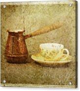 Arabica Coffee Acrylic Print
