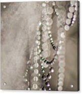 Arachne's Beads Acrylic Print