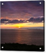 Aran Islands At Sunset Acrylic Print