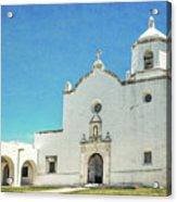 Mission La Bahia Acrylic Print