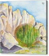 Arboretum Rocks Acrylic Print