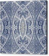 Arc De Triomphe Du Carrosel Paris Kaleidoscope Vertical Acrylic Print