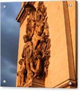 Arc De Triomphe Acrylic Print