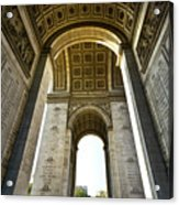 Arc De Triomphe Paris Acrylic Print