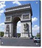 Arc De Triumph In Paris 2 Acrylic Print