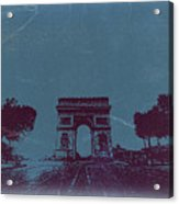 Arc De Triumph Acrylic Print by Naxart Studio