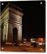 Arc Du Triomphe Paris Acrylic Print