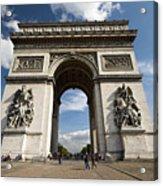 Arc The Triomphe Paris Acrylic Print