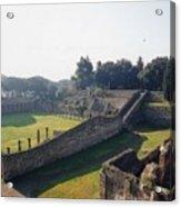 Arcaded Court Of The Gladiators Pompeii Acrylic Print