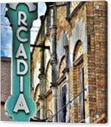 Arcadia Theater Acrylic Print