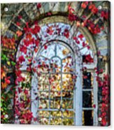 Arch And Red Vines Acrylic Print