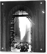 Arch At Grand Central Station Acrylic Print