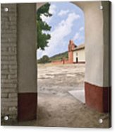 Arch At La Purisima Acrylic Print