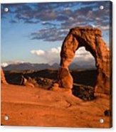 Arch at Sunset Acrylic Print