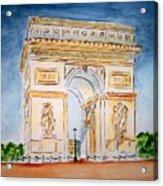 Arch De Triumph  Acrylic Print
