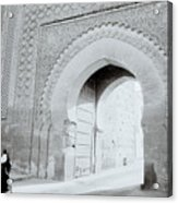 Arch In The Casbah Acrylic Print