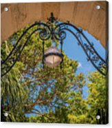 Arch Of The Past Acrylic Print