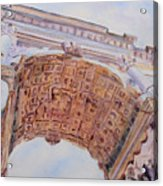 Arch Of Titus One Acrylic Print by Jenny Armitage