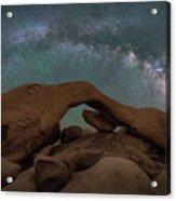 Arch Rock Milky Way  Acrylic Print