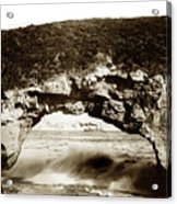 Arch Rock, Santa Cruz, California Circa 1900 Acrylic Print