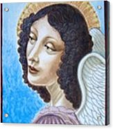 Archangel Contemplating The Holy Child Acrylic Print