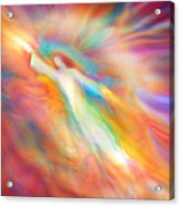 Archangel Jophiel Illuminating The Ethers Acrylic Print