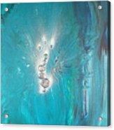 Archangel Sandelphon Acrylic Print