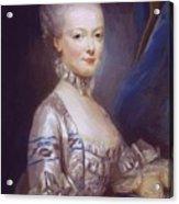 Archduchess Maria Antonia Of Austria 1769 Acrylic Print