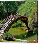 Arched Bridge Acrylic Print