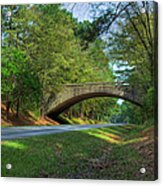 Arched Bridge Overpass  Acrylic Print
