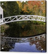 Arched Bridge-somesville Maine Acrylic Print