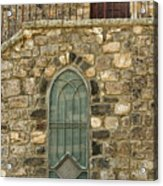 Arched Door And Window Acrylic Print