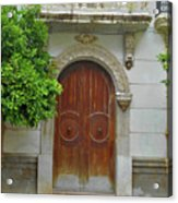Arched Door Cadiz Acrylic Print