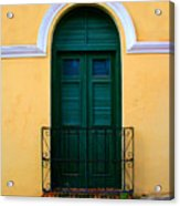 Arched Doorway Acrylic Print by Perry Webster