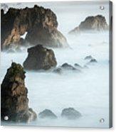 Arched Rock Sea Bird Acrylic Print