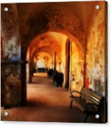 Arched Spanish Hall Acrylic Print