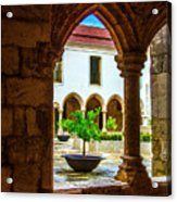Arched View Acrylic Print