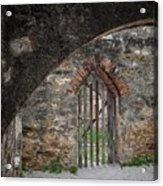 Arched Way Acrylic Print