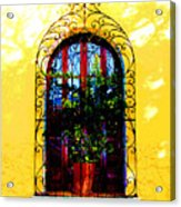Arched Window By Darian Day Acrylic Print