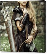 Archer Warrior Acrylic Print